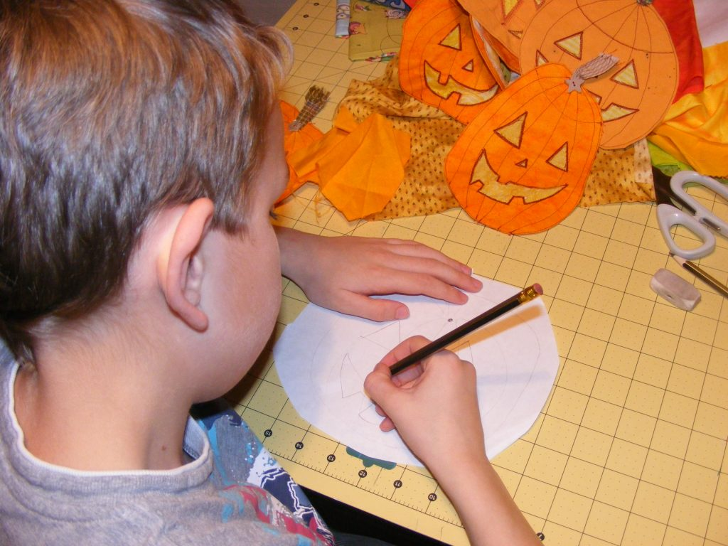 STAINED GLASS PUMPKINS 009