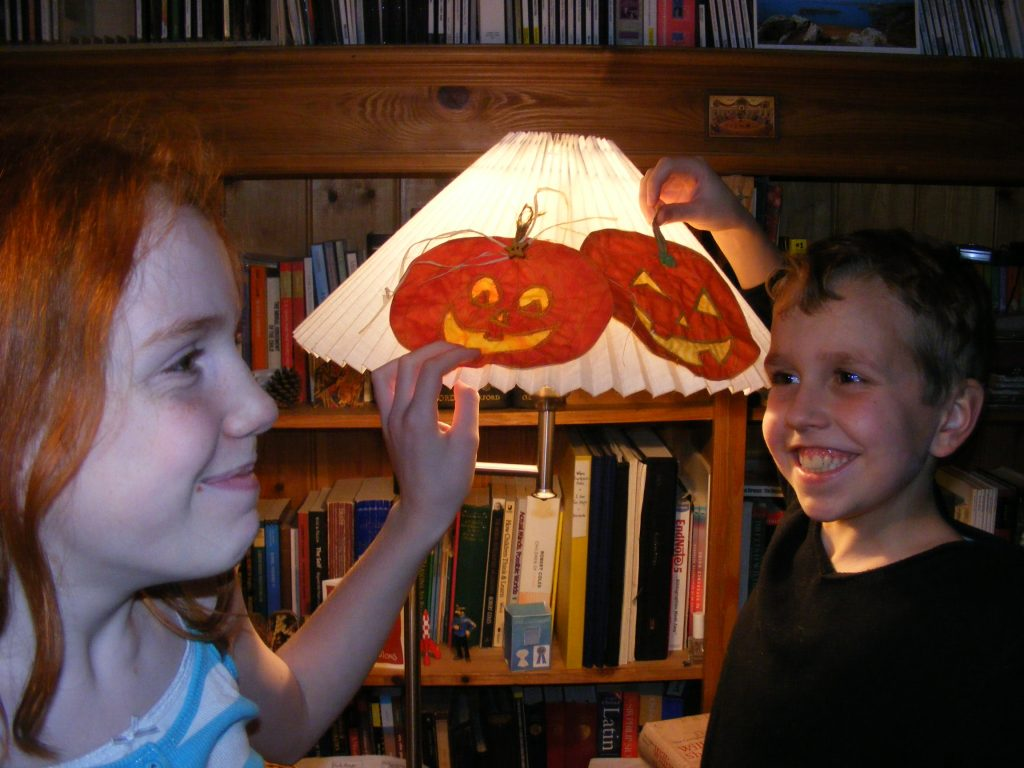STAINED GLASS PUMPKINS 038