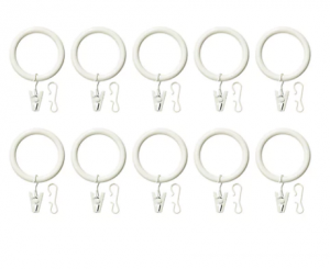 ikea curtain rings