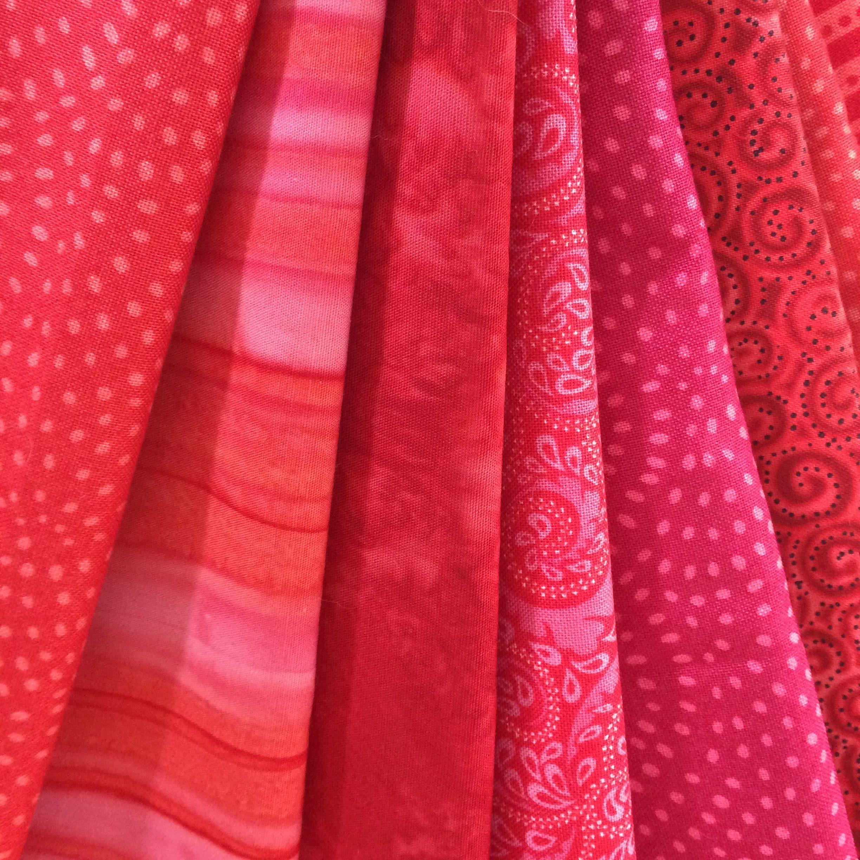 red stash fabrics