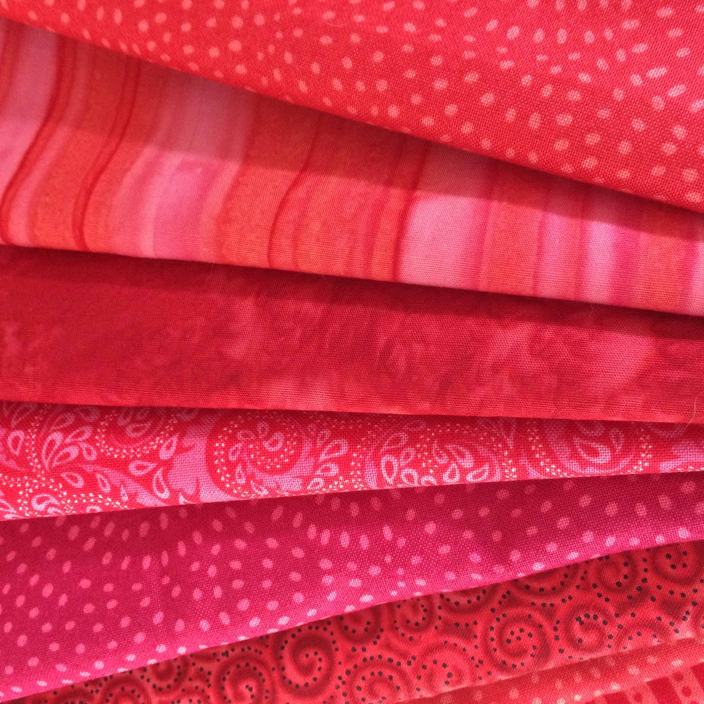red stash fabrics