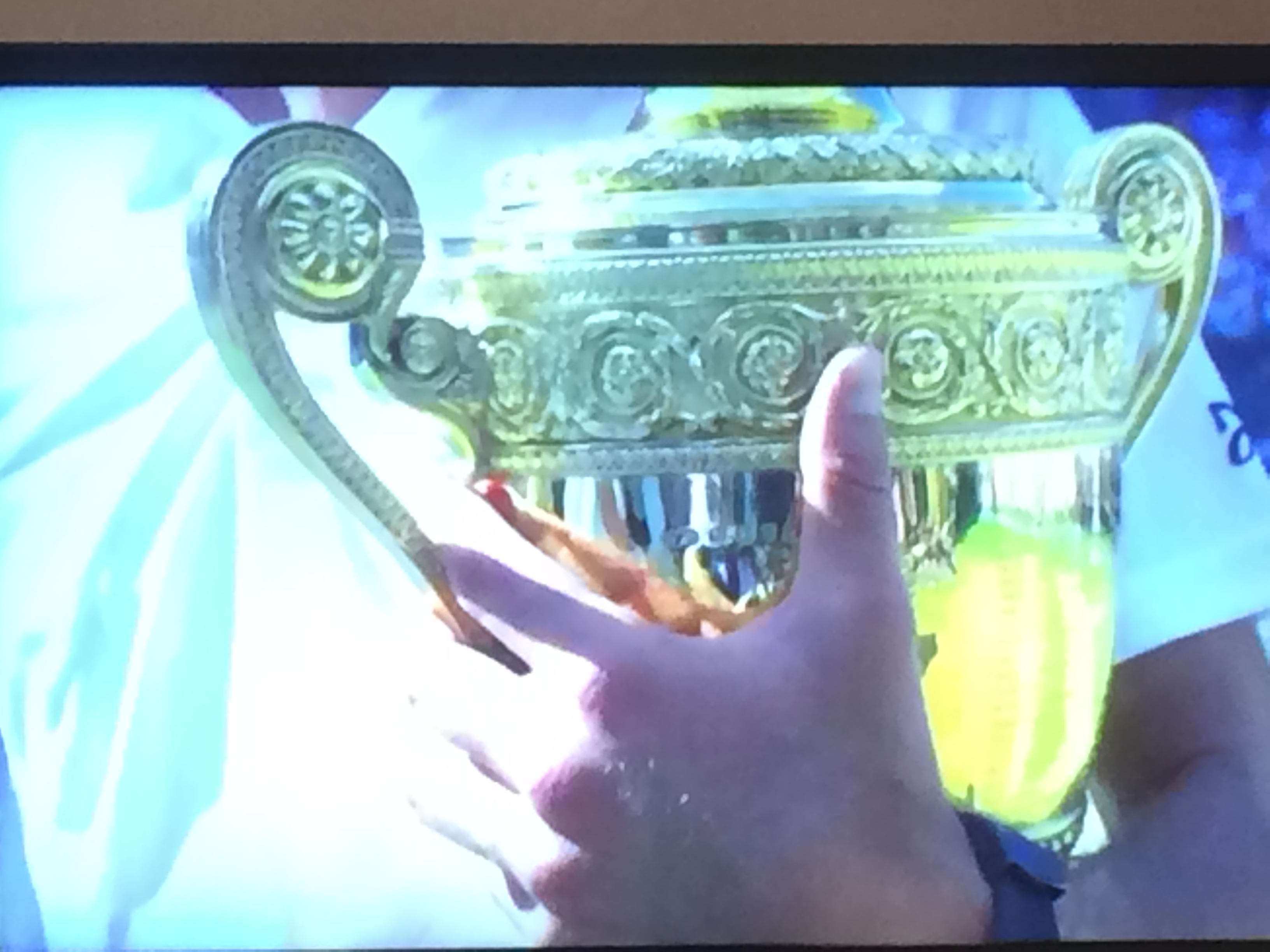 Djokovic wins the trophy